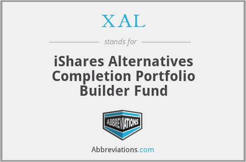 XAL - iShares Alternatives Completion Portfolio Builder Fund