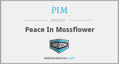 PIM - Peace In Mossflower