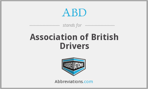 ABD - Association of British Drivers