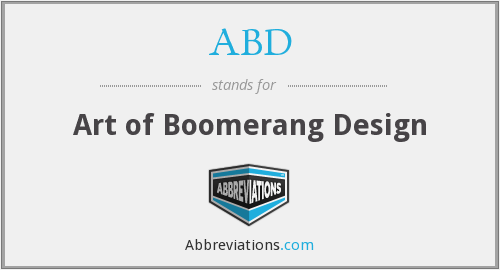 ABD - Art of Boomerang Design