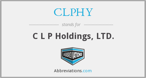 What does CLPHY stand for?