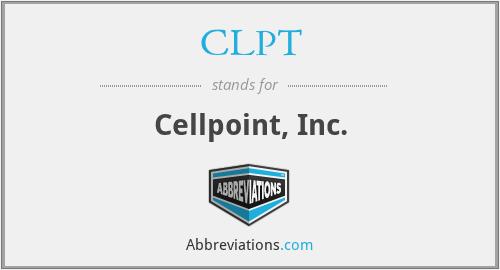 CLPT - Cellpoint, Inc.