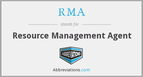 RMA - Resource Management Agent