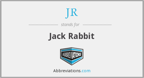 JR - Jack Rabbit