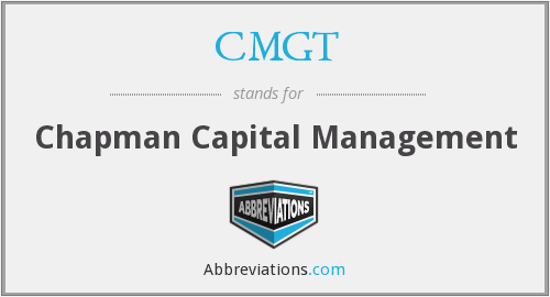 What does CMGT stand for?
