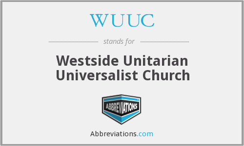 WUUC - Westside Unitarian Universalist Church