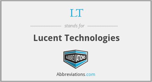LT - Lucent Technologies