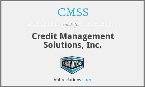 CMSS - Credit Management Solutions, Inc.