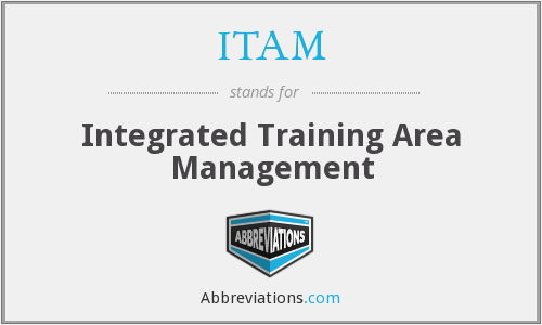 ITAM - Integrated Training Area Management