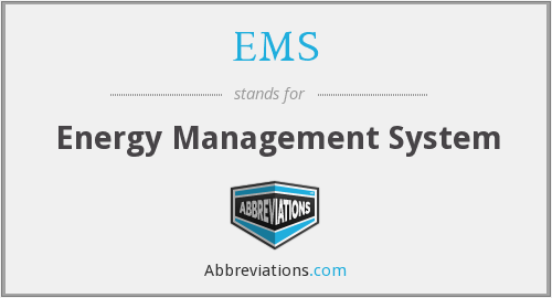 EMS - Energy Management System