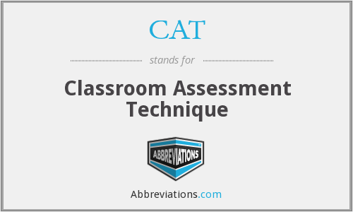CAT - Classroom Assessment Technique