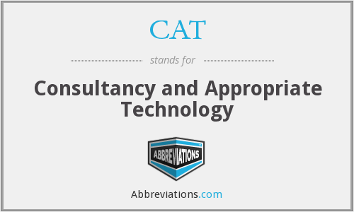 CAT - Consultancy and Appropriate Technology