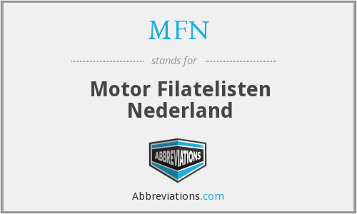 MFN - Motor Filatelisten Nederland