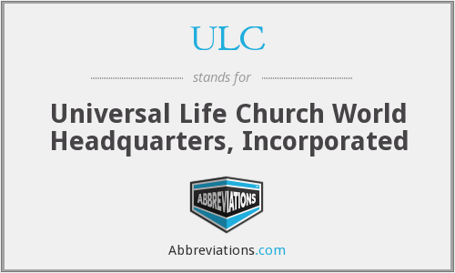 What does ULC stand for?