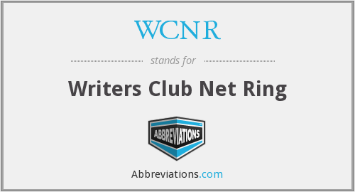 What does WCNR stand for?
