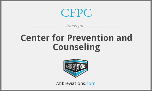 CFPC - Center for Prevention and Counseling