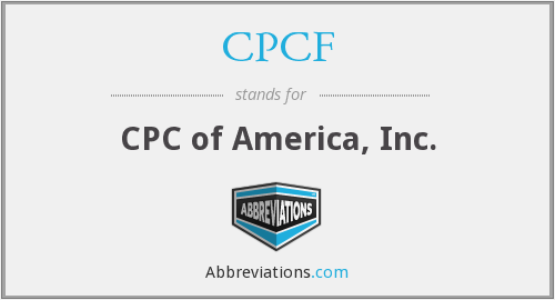 What does CPCF stand for?