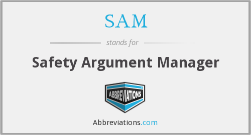 SAM - Safety Argument Manager