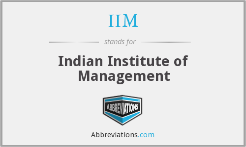 What does IIM stand for?