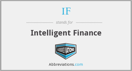 IF - Intelligent Finance