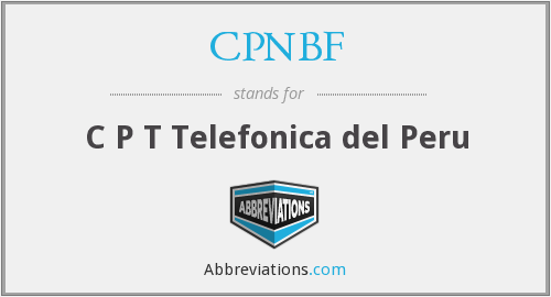 What does telefonica stand for?