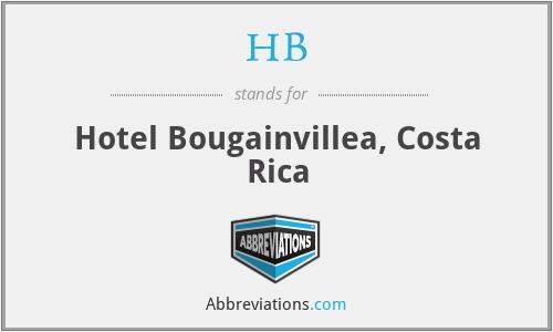 HB - Hotel Bougainvillea, Costa Rica