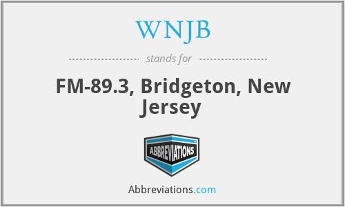 WNJB - FM-89.3, Bridgeton, New Jersey