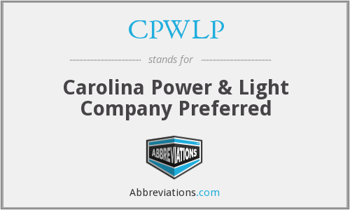 What does CPWLP stand for?