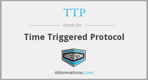 TTP - Time Triggered Protocol
