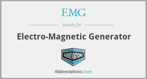EMG - Electro-Magnetic Generator