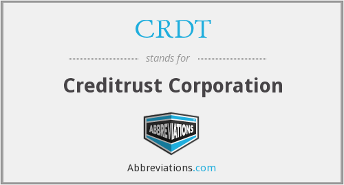 What does CRDT stand for?