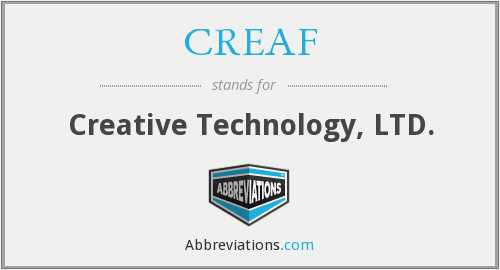 CREAF - Creative Technology, LTD.