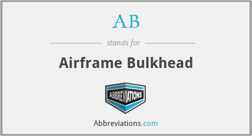 AB - Airframe Bulkhead