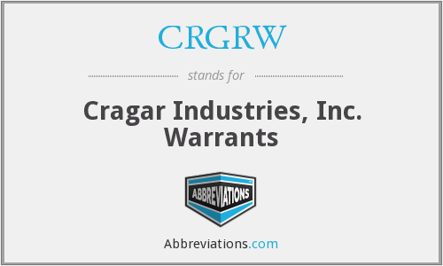 What does CRGRW stand for?