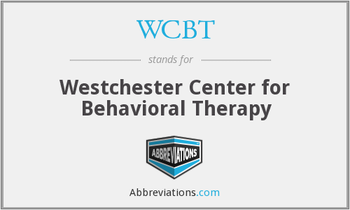 WCBT - Westchester Center for Behavioral Therapy