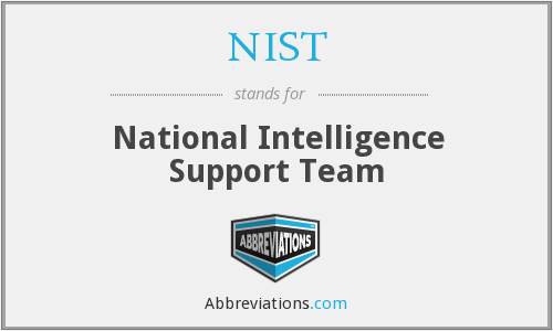 NIST - National Intelligence Support Team