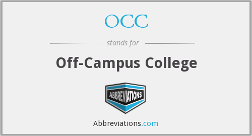 OCC - Off-Campus College