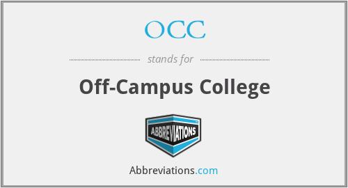 OCC - Off-Campus College