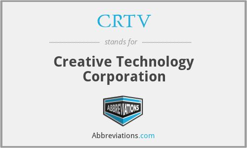 CRTV - Creative Technology Corporation