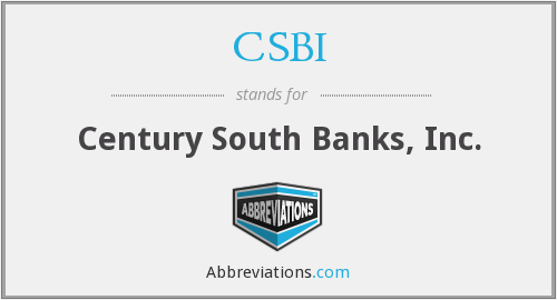 What does CSBI stand for?