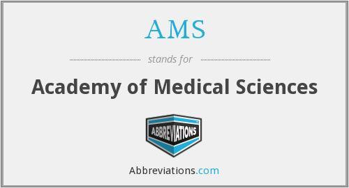 AMS - Academy of Medical Sciences