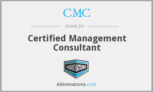 CMC - Certified Management Consultant