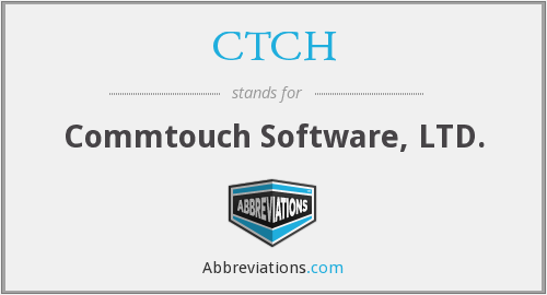 What does CTCH stand for?