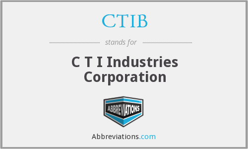 What does CTIB stand for?