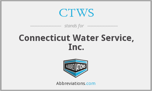 CTWS - Connecticut Water Service, Inc.