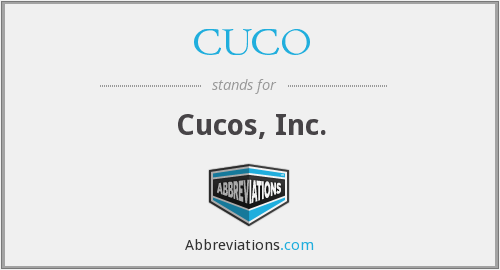What does CUCO stand for?