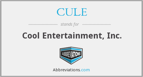 CULE - Cool Entertainment, Inc.