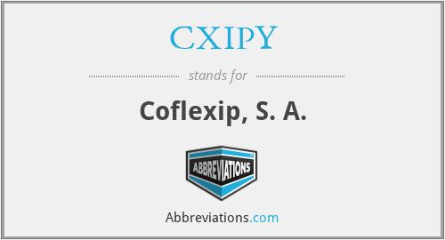 CXIPY - Coflexip, S. A.