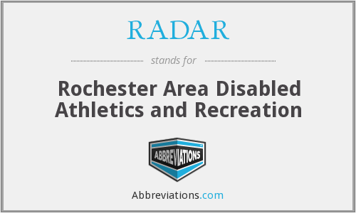 RADAR - Rochester Area Disabled Athletics and Recreation