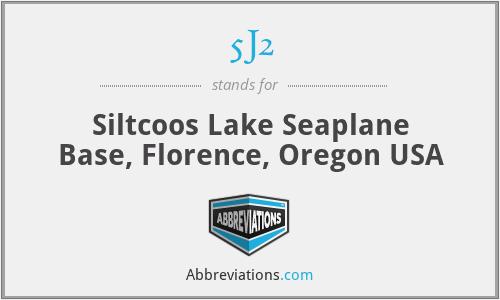 5J2 - Siltcoos Lake Seaplane Base, Florence, Oregon USA